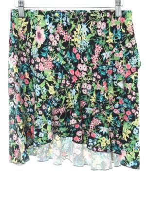 H&M Stufenrock Blumenmuster Casual-Look