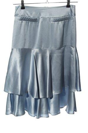 H&M Gonna lunga stropicciata blu elegante