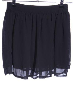 H&M Warstwowa spódnica niebieski W stylu casual