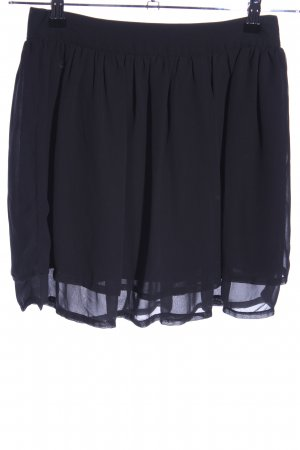 H&M Falda gitana azul look casual