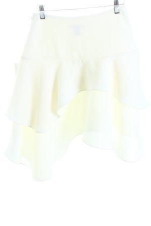 H&M Gonna lunga stropicciata bianco stile casual