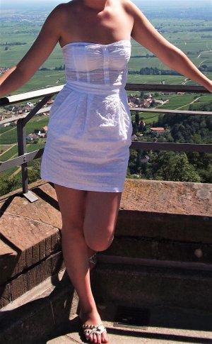 H&M süsses Sommerkleid weiß Gr.36