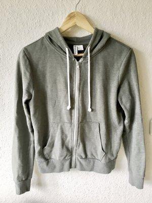 H&M Sweat Jacket green grey-khaki