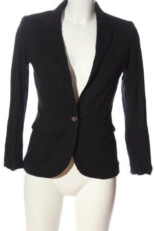 H&M Marynarka dresowa czarny W stylu casual