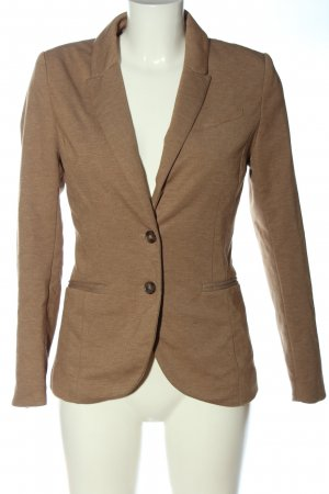 H&M Sweatblazer braun meliert Casual-Look