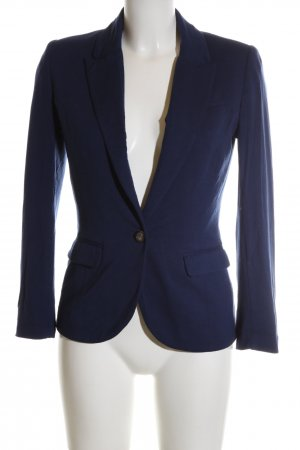 H&M Sweatblazer blau Business-Look