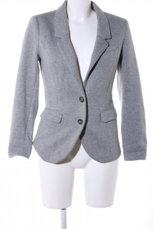 H&M Sweat Blazer light grey flecked business style
