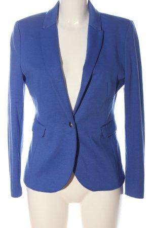 H&M Blazer de tela de sudadera azul estilo «business»