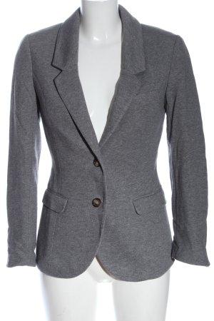 H&M Sweatblazer hellgrau meliert Casual-Look