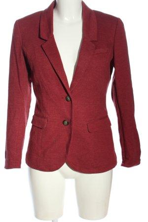 H&M Sweatblazer rot meliert Business-Look