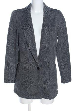 H&M Blazer sweat gris clair moucheté style d'affaires