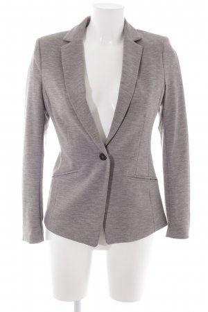 H&M Sweatblazer grau Business-Look