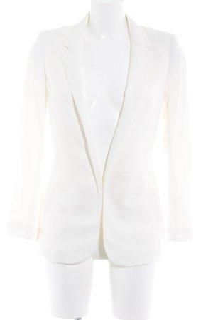 H&M Sweatblazer hellbeige Business-Look