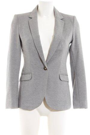 H&M Sweatblazer hellgrau Business-Look