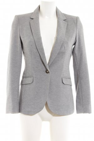 H&M Sweatblazer hellgrau Business-Look