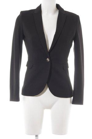 H&M Sweatblazer schwarz Elegant