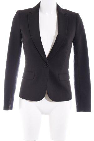 H&M Sweatblazer schwarz Punktemuster Business-Look