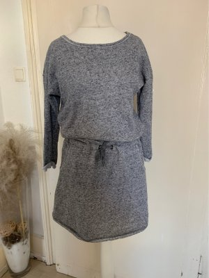 H&M L.O.G.G. Sweater Dress light grey-grey