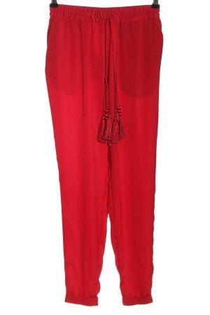 H&M Pantalone fitness rosso stile semplice