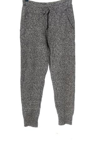 H&M Pantalon de jogging gris clair moucheté style décontracté