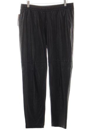 H&M Spodnie dresowe czarny Z połyskiem