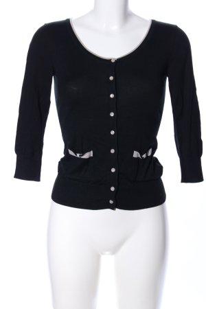 H&M Sweatjacke schwarz Casual-Look