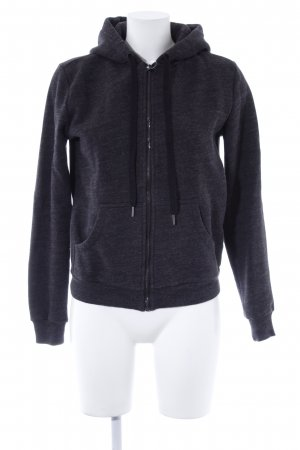 H&M Sweatjacke anthrazit Casual-Look