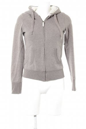 H&M Sweatjacke beige Casual-Look
