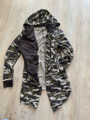 H&M Sweatjacke Camouflage