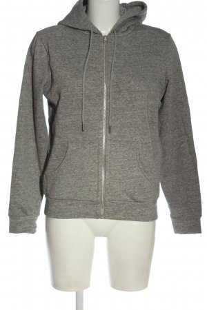 H&M Giacca fitness grigio chiaro puntinato stile casual