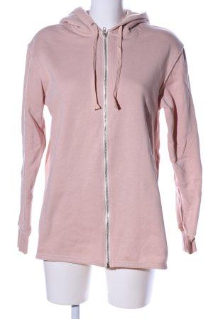 H&M Sweatjacke pink Casual-Look