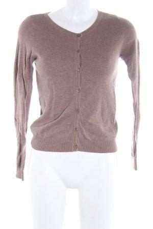 H&M Sweatjacke pink meliert Casual-Look