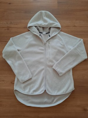 H&M Sport Chaqueta de tela de sudadera blanco puro
