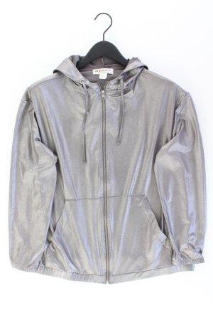 H&M Sweatjacke Größe M Langarm silber aus Polyester