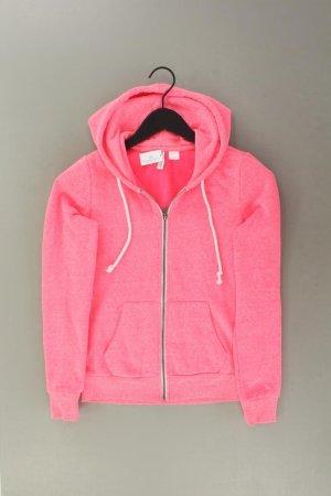 H&M Sweatjacke Größe XS Langarm pink aus Polyester