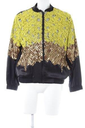 H&M Sweatjacke mehrfarbig extravaganter Stil