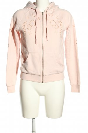 H&M Sweat Jacket pink casual look