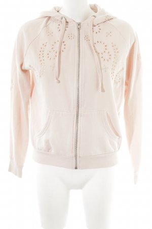 H&M Sweatjacke rosé Casual-Look