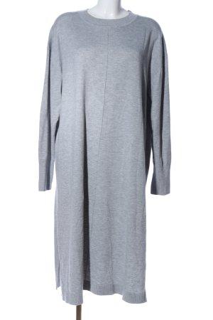 H&M Sweatjurk lichtgrijs gestippeld casual uitstraling