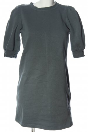 H&M Sweatkleid hellgrau Casual-Look