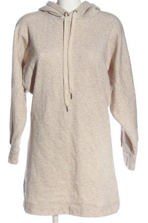 H&M Sweatkleid creme meliert Casual-Look
