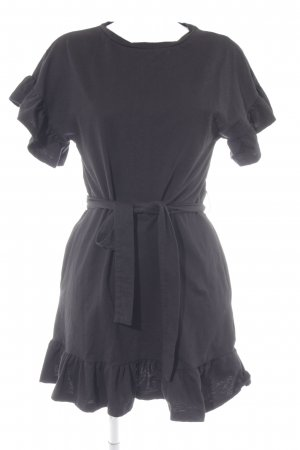 H&M Sweatkleid schwarz Casual-Look