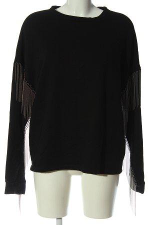 H&M Felpa nero stile casual