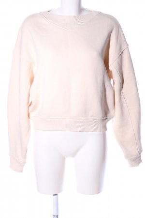 H&M Sweatshirt creme Casual-Look