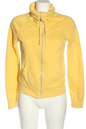 H&M Sweatshirt blassgelb schlichter Stil
