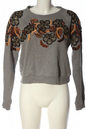 H&M Sweatshirt grafisches Muster Casual-Look