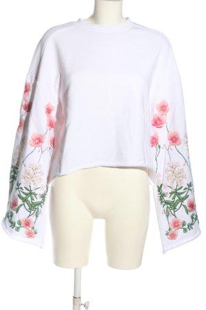 H&M Sweatshirt mehrfarbig Casual-Look