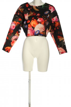 H&M Sweatshirt Allover-Druck Casual-Look