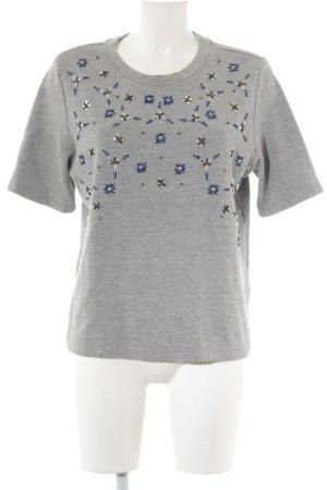 H&M Sweatshirt abstraktes Muster Casual-Look