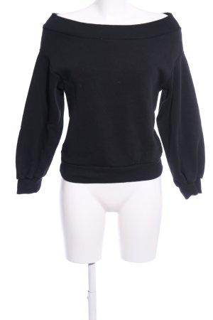 H&M Sweatshirt schwarz Casual-Look
